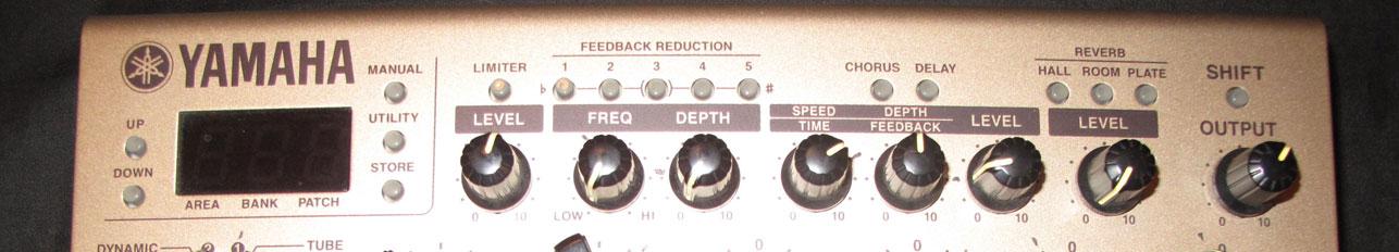 YAMAHA AG-STOMP – ACOUSTIC GUITAR PRE AMP
