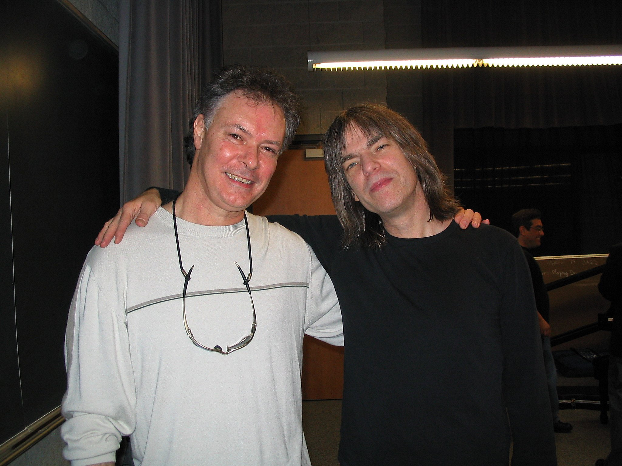 Stuart Redd With Mike Stern rehearsal UNF
